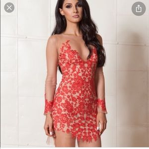 For love and lemons Luau mini dress